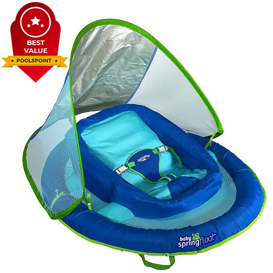 2. SwimWays Baby Spring Float Sun Canopy
