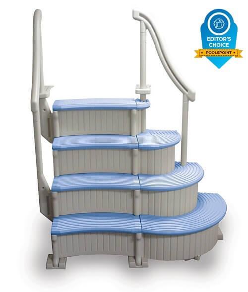 1. Confer Above Ground Curve Step System