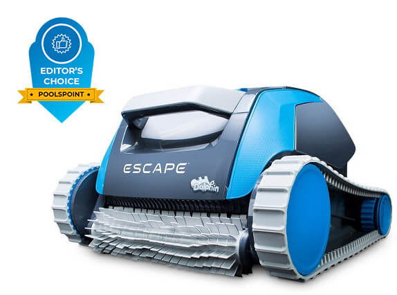 1. Dolphin Escape Robotic Above Ground Pool Cleaner