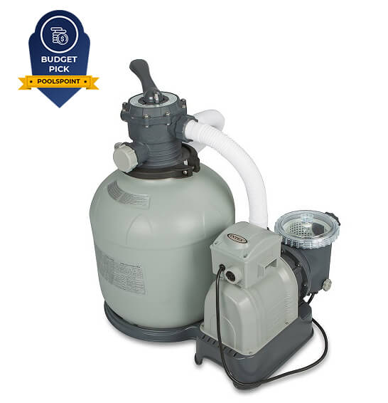 3. Intex Krystal Clear Sand Filter Pump