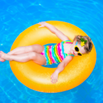 Toddlers swimming pool float - featured image