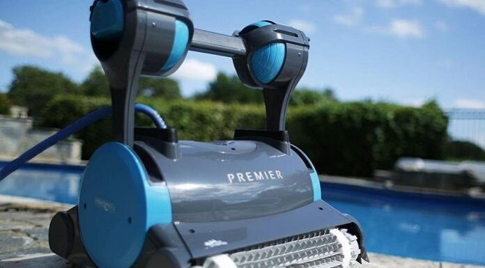 Dolphin Premier Robotic Pool Cleaner - featured image
