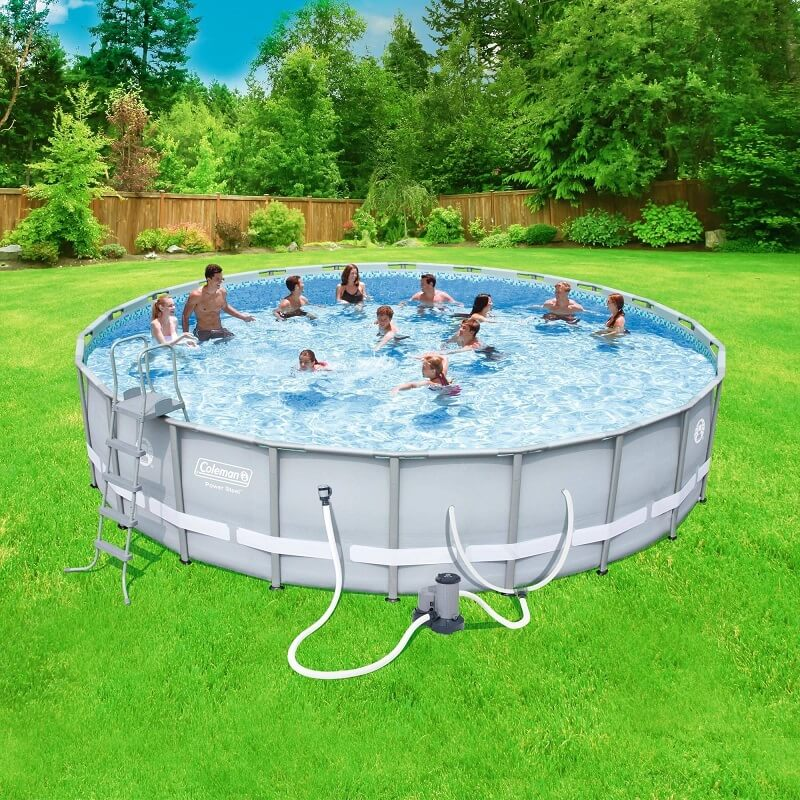 coleman 22x52 pool set
