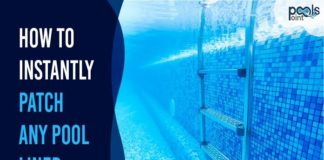 how to patch an above ground pool liner